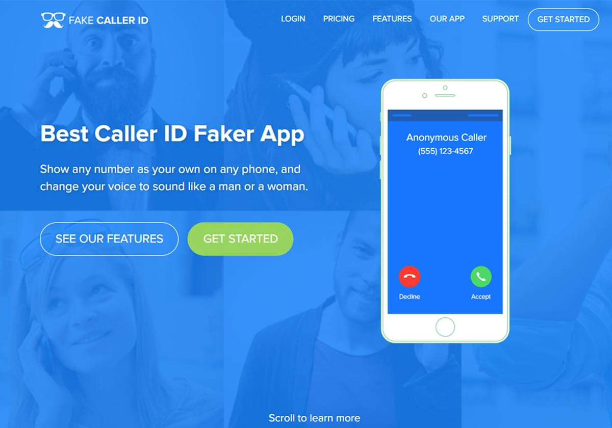 Skyrockets Fakecaller ID project